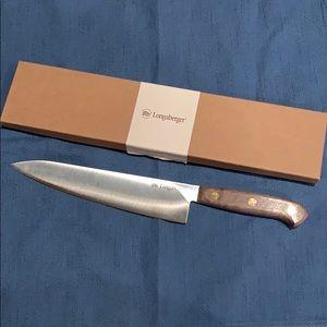 Longaberger Chef Knife. Like New